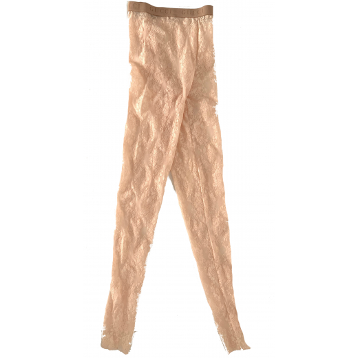 GUCCI – koronkowe rajstopy – leggings