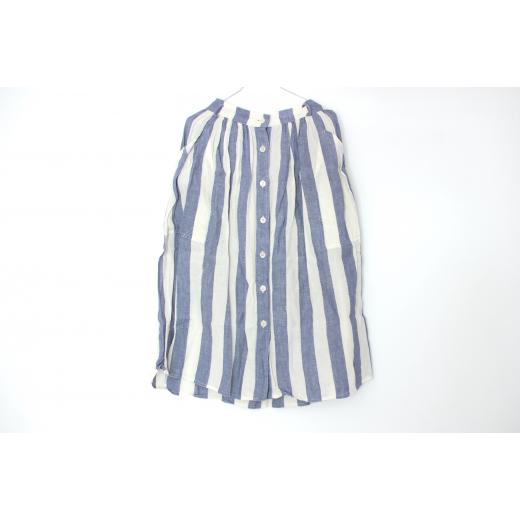 Max Mara Linen Striped Skirt