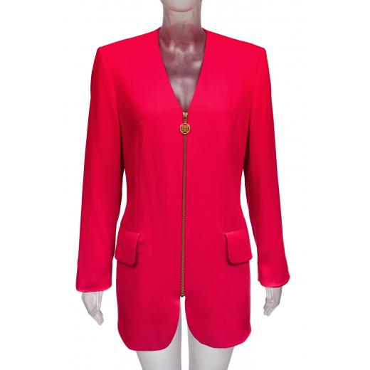 Płaszcz marynarka czerwony Givenchy en Plus