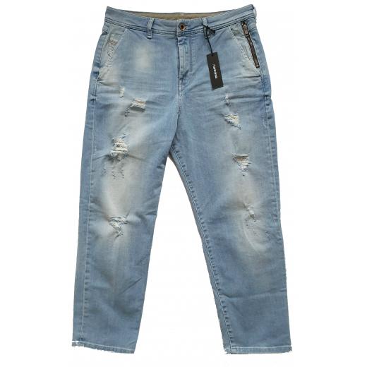 Diesel CARROT-CHINO Light Blue Boyfriend Jeans 29