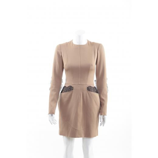 Bizuu sukienka karmelowa