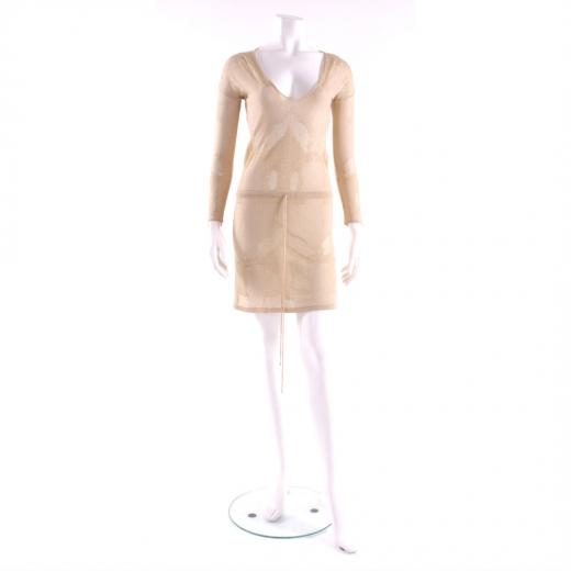 Melissa Odabash sukienka złota