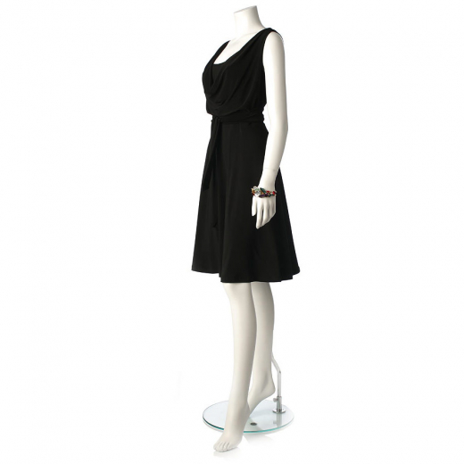 Sukienka czarna Ralph Lauren