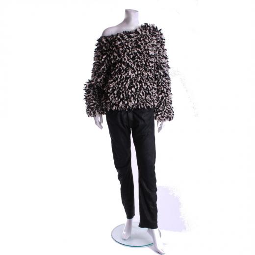 Isabel Marant dla H&M sweter biało czarny