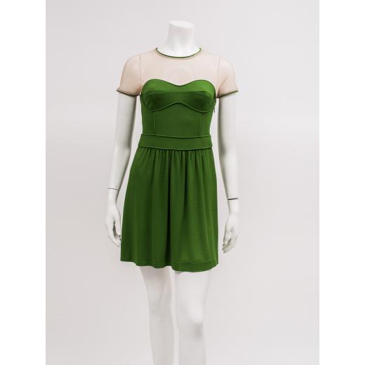 Burberry sukienka zielona