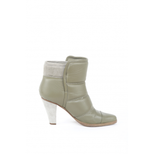 Chloe Quilted leather ankle boots