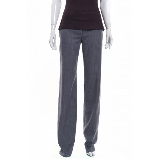 Szare szerokie spodnie