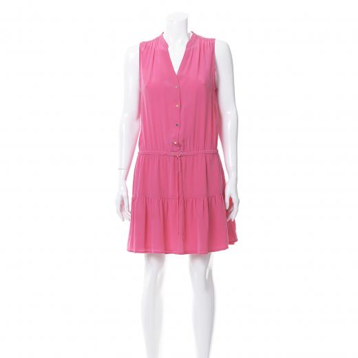 Różowa sukienka letnia