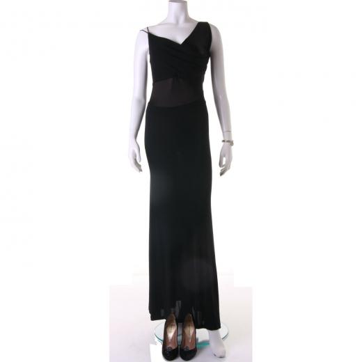 Suknia wieczorowa dług czarna