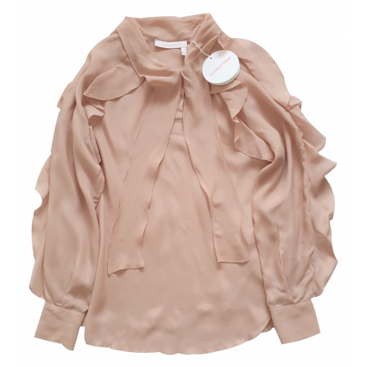 See by Chloé Rufled Top, nowa XS