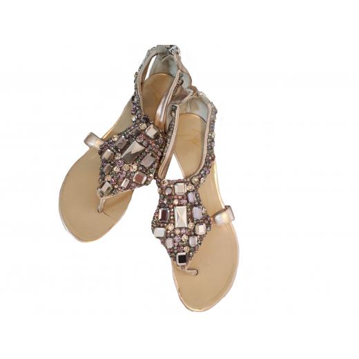 Japonki sandałki Giuseppe Zanotti kryształki