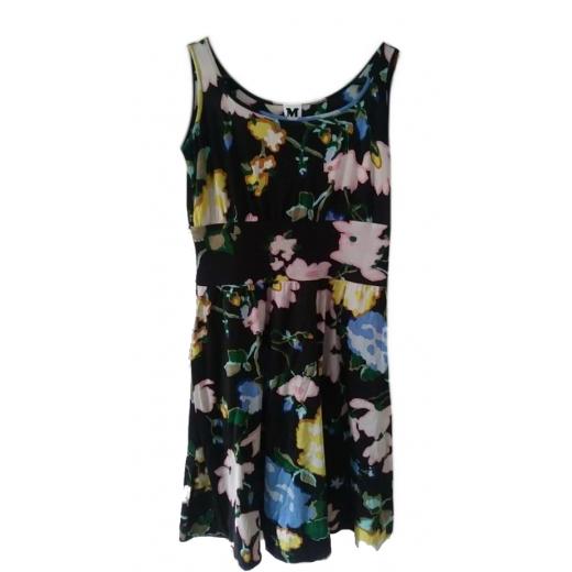 Jedwabna sukienka w kwiaty Missoni 38 M