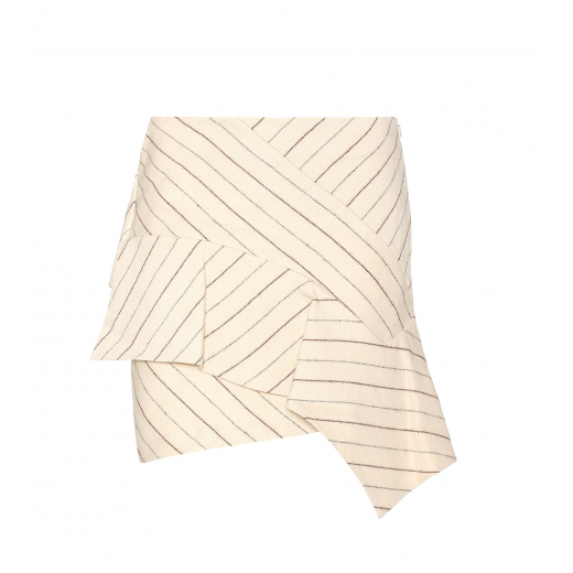 ISABEL MARANT spódnica Kimura linen and wool