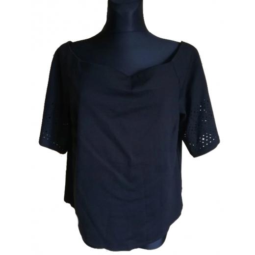 Ralph Lauren off shoulders czarna XL