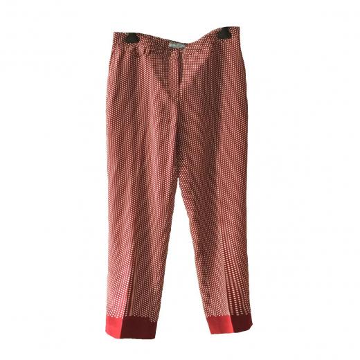 spodnie jedwabne Prada