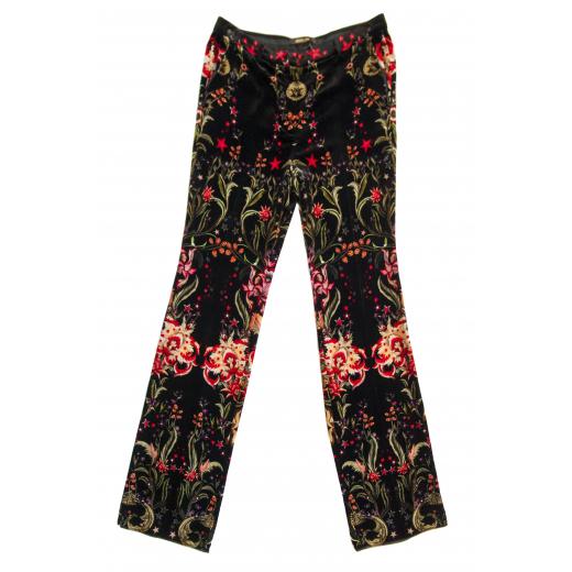 """Welurowe spodnie """"Galaxy Garden"""""""