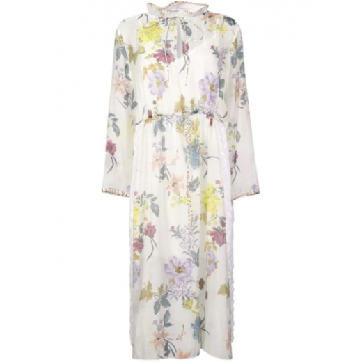 See by Chloé floral tied waist dress, nowa S-M