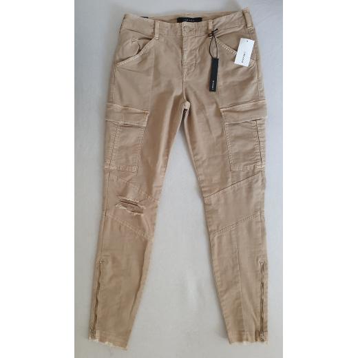 J Brand Houlihan Mid-Rise Skinny Crop Cargo Jeans