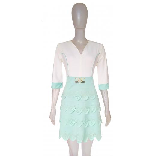 Sukienka z koronką Elisabetta Franchi 36