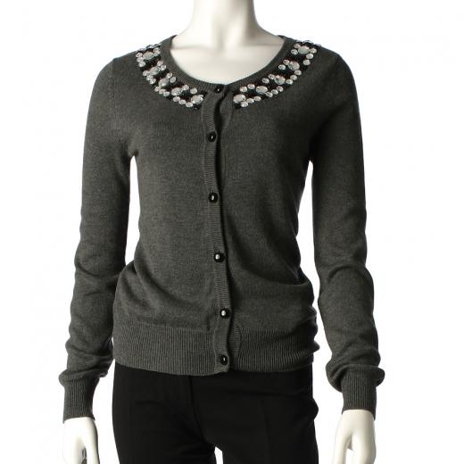 Sweter z kamieniami Tara Jarmon