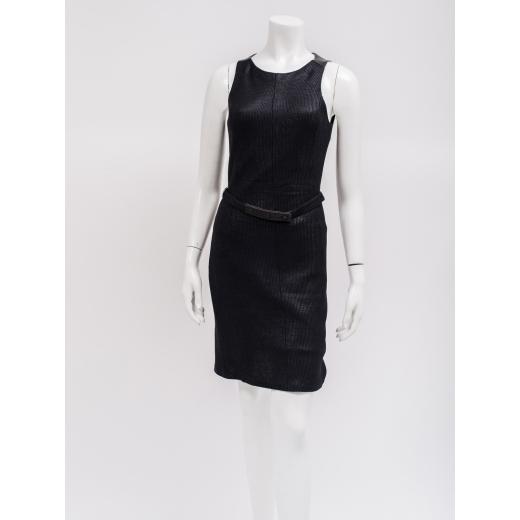 Rag&Bone sukienka czarna z połyskiem