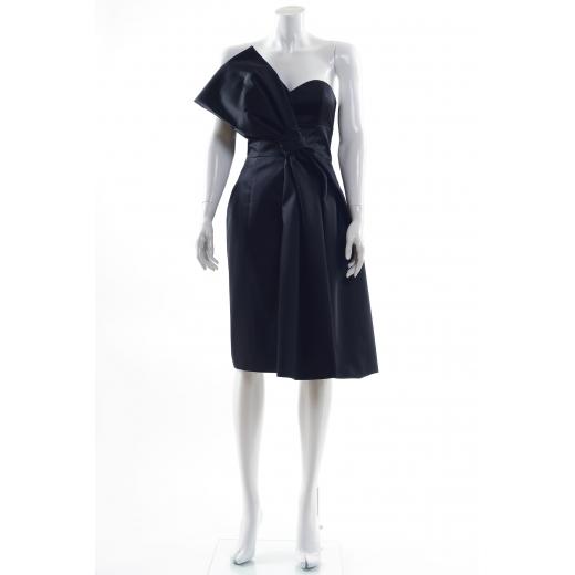 Paule Ka suknia z kokardą krótka