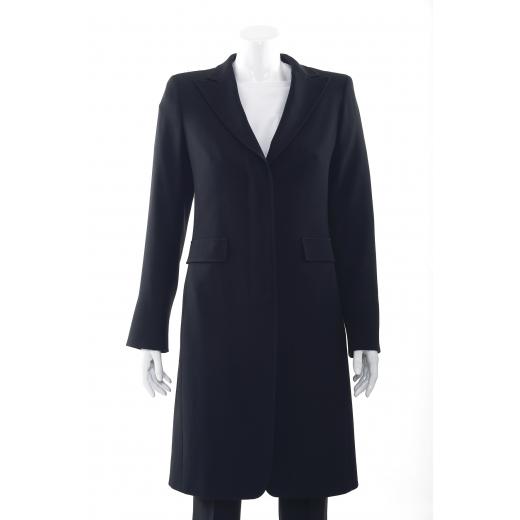 MaxMara czarny płaszcz