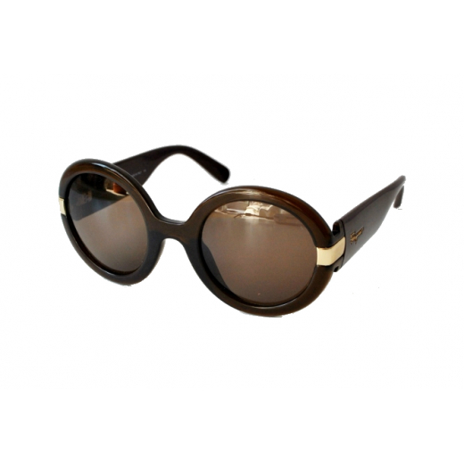 Salvatore Ferragamo okrągłe okulary SF778S