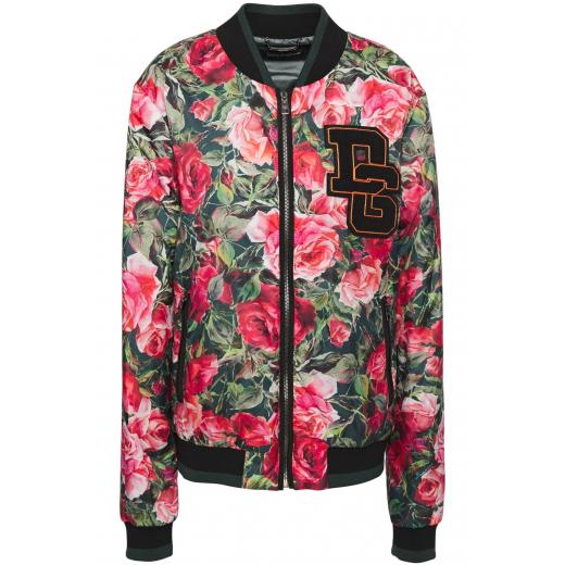 Dolce & Gabbana Floral Bomber Jacket nowa M-L