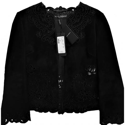 Dolce & Gabbana kurtka skóra naturalna nowa XS
