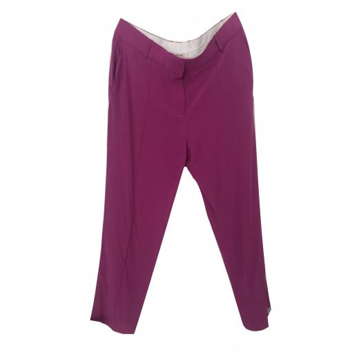 Celine jedwabne spodnie S