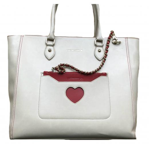 Beżowa torebka Love Moschino