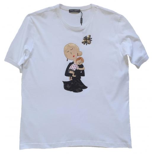 Dolce Gabbana Oversize Mother T-shirt nowy