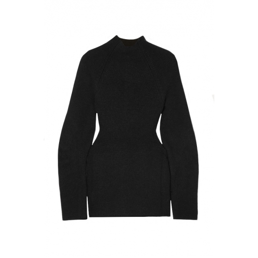 Chloé Cutout ribbed-knit sweater, nowy M-L