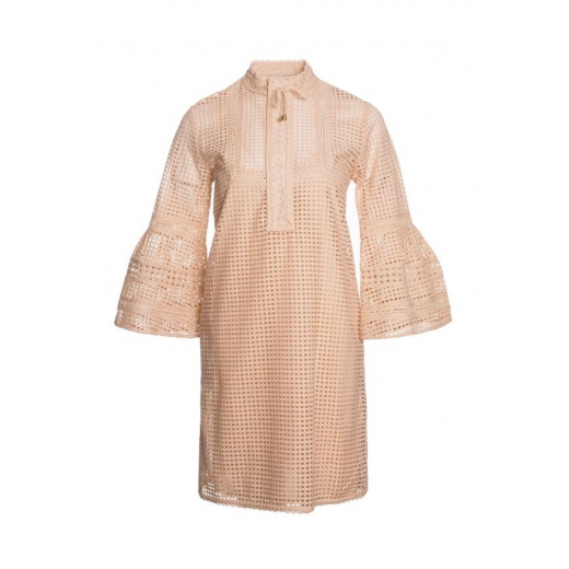 Paul & Joe sukienka bawełna, old pink, nowa 36