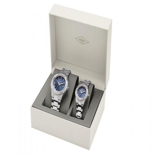 Zegarek Fossil dla niej i dla niego - zestaw
