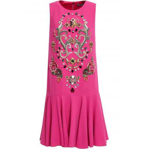 Dolce & Gabbana Sukienka z krepy nowa XXS-XS