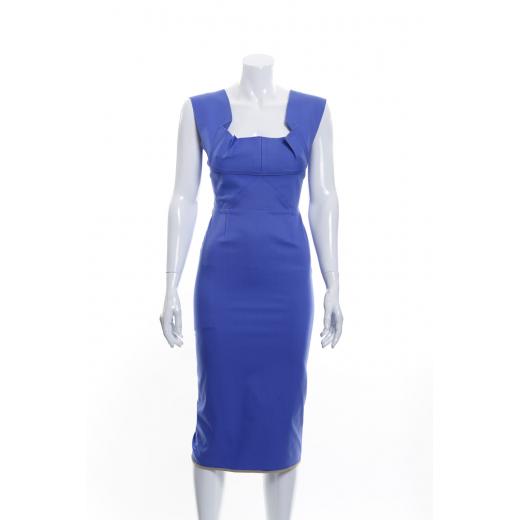 Lawendowa sukienka