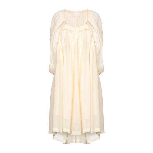 CHLOE Buttercream Short dress, jedwab, nowa