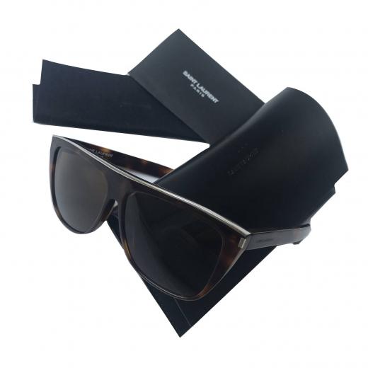 Okulary przeciwsłoneczne Saint Laurent flat top