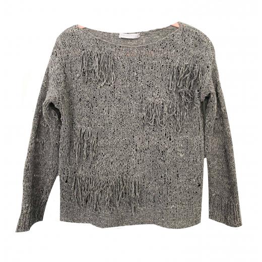 Sweterek szary Fabiana Fillippi