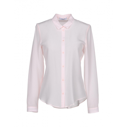 Cacharel Pink Silk Shirt nowy 42 Italy