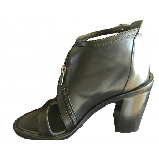 sandały na obcasie, firmy Ann Demeulemeester