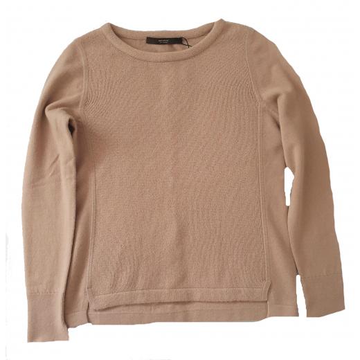 Windsor swetr 100% kaszmir, kamel nowy 34-36