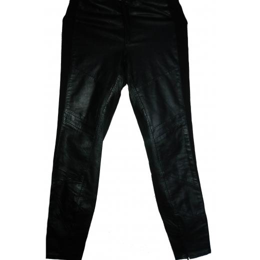 Spodnie skóra DAGMAR rozmiar 38