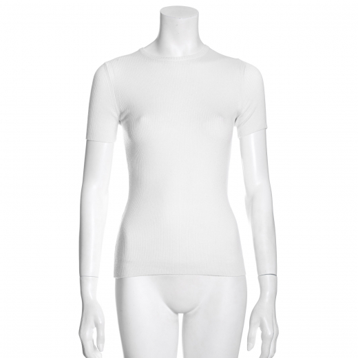 biały top/sweterek
