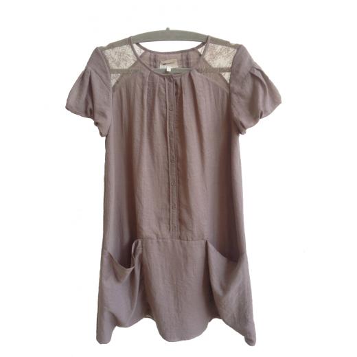 Sukienka w kolorze lawendowym