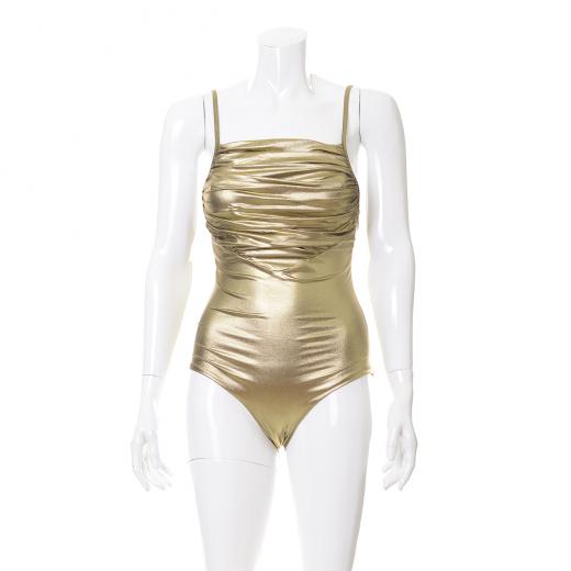 Złoty kostium