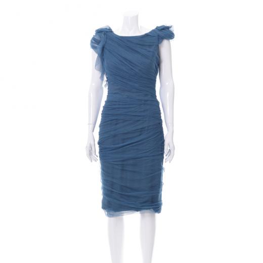 Sukienka drapowana