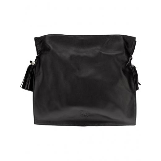 LOEWE torebka flamenco 30 czarna skóra naturalna